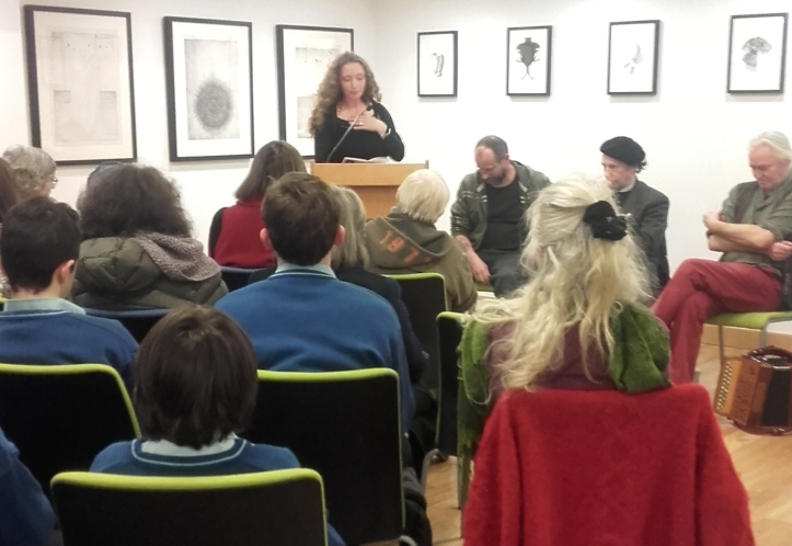 Jessamine O'Connor at Ballymote Library