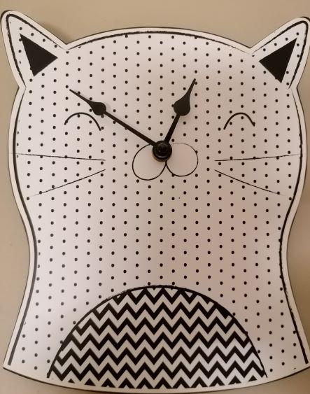 cat clock s